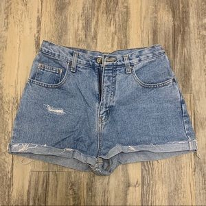 ✨3 FOR 10!!✨ Cherokee Distressed Mom Jean Shorts